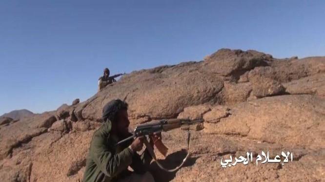 Những chiến binh Houthi - ảnh minh họa Masdar News