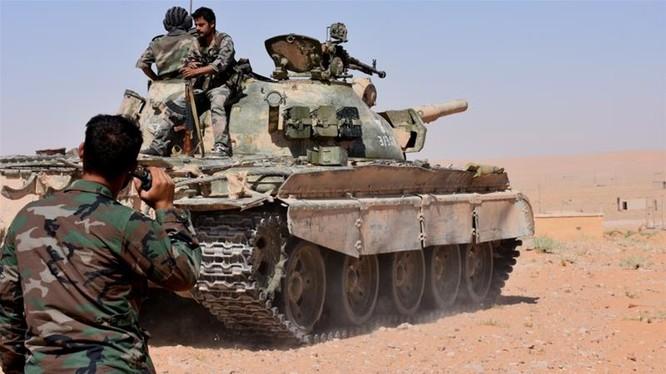Binh sĩ lực lượng Tiger trên chiến trường tỉnh Idlib - ảnh minh họa Masdar News