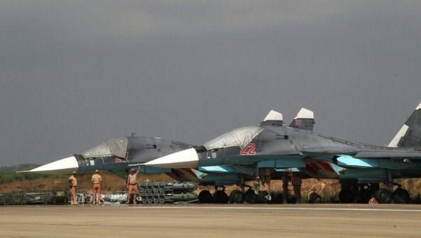 Căn cứ sân bay quân sự Khmeimim - ảnh minh họa trang uawire