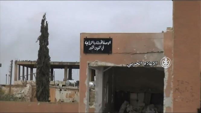 Thị trấn Al-Khuwayn vừa giải phóng - ảnh Masdar News