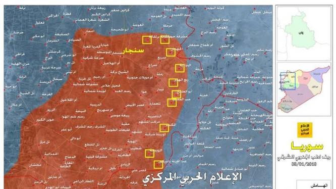 Những khu dân cư trên địa phận tỉnh Idlib - Aleppo vừa được lực lượng Tiger giải phóng ngày 08.01.2018 - ảnh truyền thông Hezzbollah