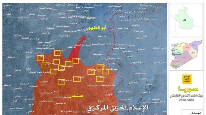 Quân đội Syria giải phóng liên tiếp 12 khu dân cư trên vùng nông thôn phía đông nam tỉnh Idlib - ảnh truyền thông Hezbollah