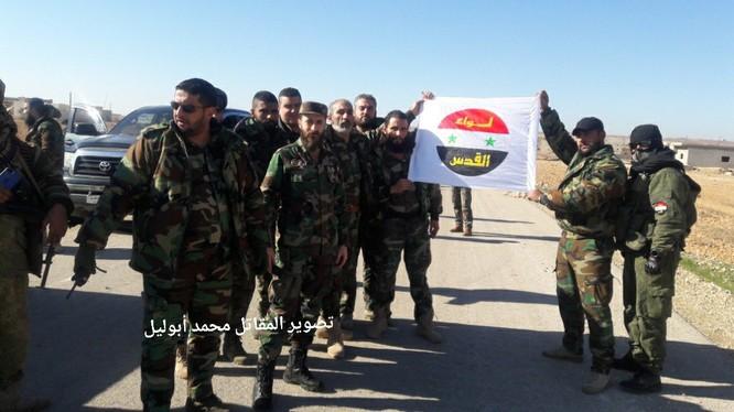 Lữ đoàn quân tình nguyện Liwa al Quds triển khai chiến đấu trên chiến trường Idlib - ảnh Ivan Sidorenko