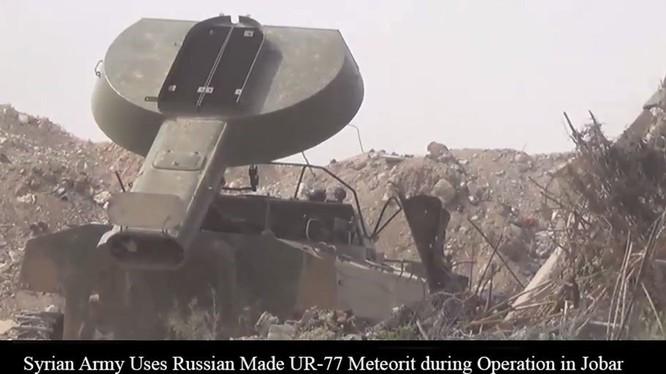 Quân đội Syria sử dụng xe quét mìn UR - 77