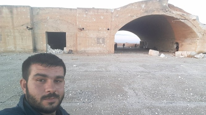 Căn cứ sân bay quân sự Abu Al Duhur sau khi giải phóng - ảnh minh họa Masdar News