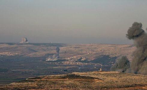 Không quân Thổ Nhĩ Kỳ không kích khu vực Afrin - Aleppo - ảnh minh họa Masdar News