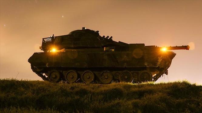 Xe tăng Thổ Nhĩ Kỳ bắt đầu tiến công trên vùng nông thôn khu vực Afrin - Aleppo
