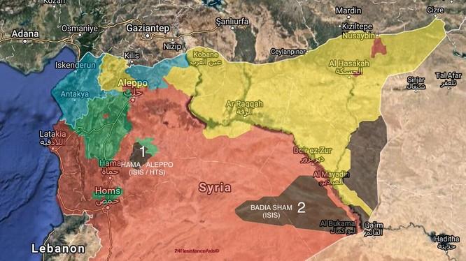 Tổng quan tình hình chiến sự Syria ngày 25.01.2018 theo South Front