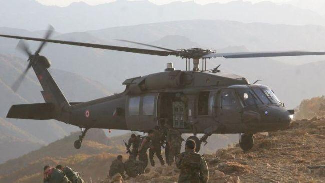 Binh lĩnh Thổ Nhĩ Kỳ đổ bộ từ trực thăng, tấn công lực lượng dân quân người Kurd - ảnh minh họa Muraselon