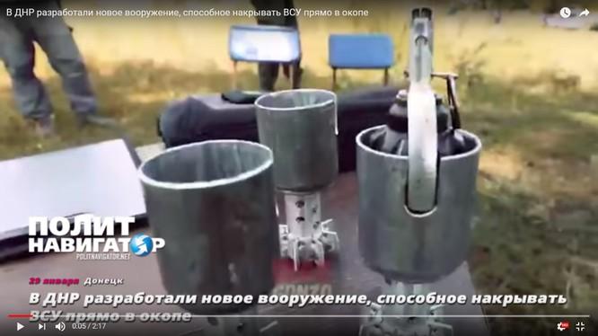 Ống phóng lựu đạn dành cho cối 60 mm - ảnh video minh họa PolitNavigator News