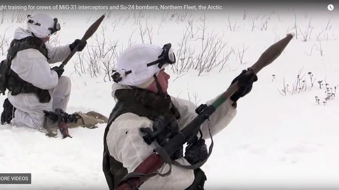 Hải quân đánh bộ Nga huấn luyện - Sputnik