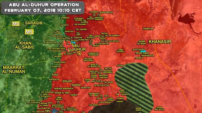 Tổng quan tình hình chiến sự khu vực Idlib, Hama - ảnh South Front