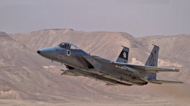 Máy bay chiến đấu Israel - ảnh minh họa Masdar News