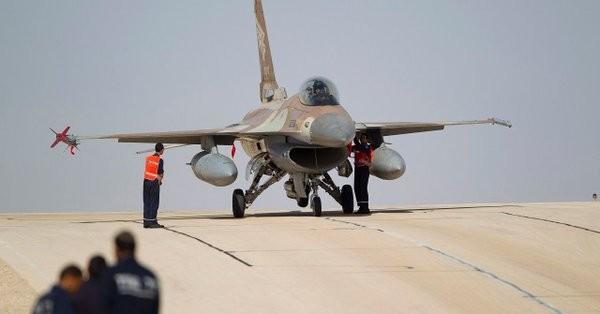 Máy bay tiêm kích F-16I không quân Israel - ảnh minh họa South Front