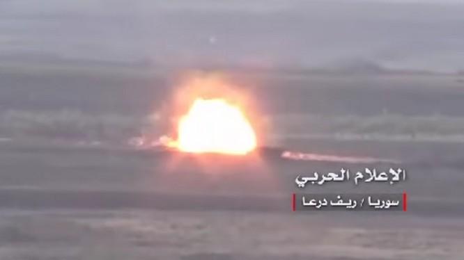 Một vụ đánh bom vệ đường nhằm vào xe của lực lượng Hồi giáo cực đoan. Ảnh minh họa Masdar News