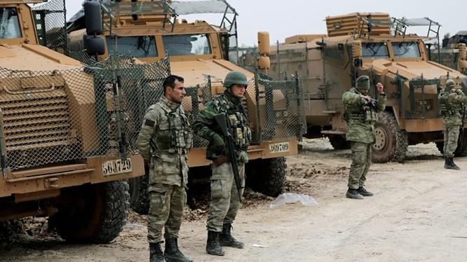 Quân đội Thổ Nhĩ Kỳ trên chiến trường Afrin - ảnh minh họa Muraselon