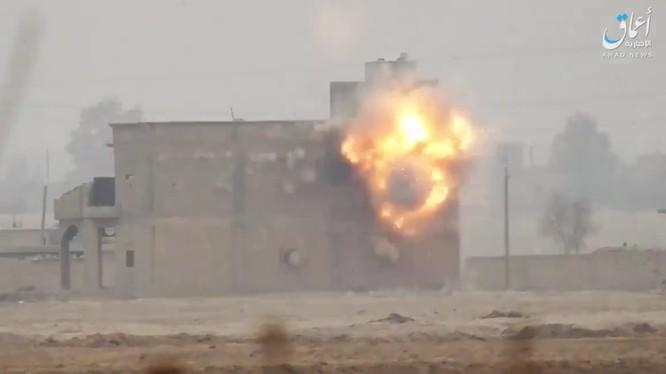 IS tấn công chiến tuyến của lực lượng SDF trên vùng nông thôn phía đông Euphrates - ảnh minh họa video