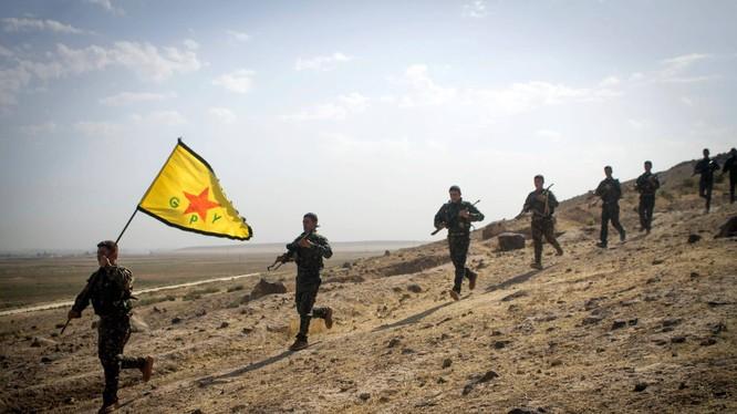 Lực lượng dân quân người Kurd YPG - ảnh minh họa Masdar News