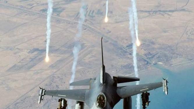 Không quân Mỹ hoạt động trên chiến trường Deir Ezzor - ảnh minh họa Masdar News