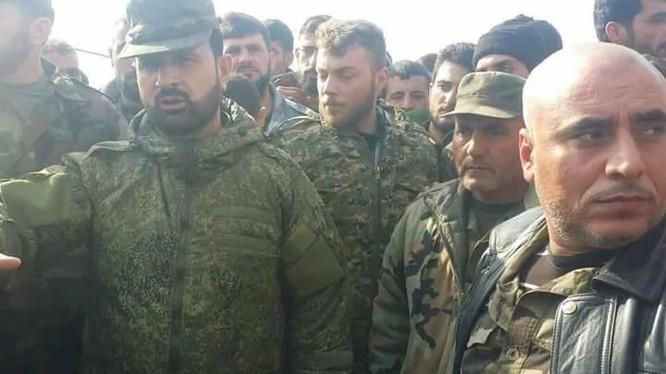 Tướng Suheil al-Hassan và các sĩ quan tham mưu dưới quyền - ảnh minh họa South Front