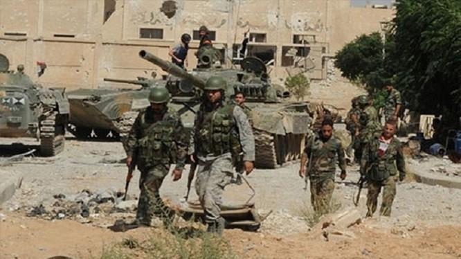 Một đơn vị quân đội Syria - ảnh minh họa Masdar News