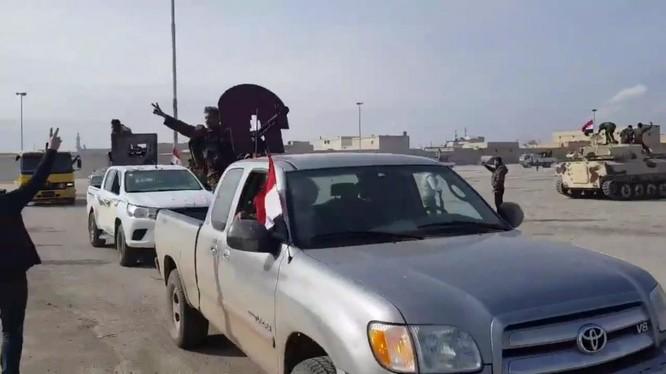 Quân đội Syria tiến vào khu vực người Kurd ở Afrin - ảnh minh họa Masdar News