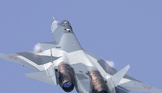 Máy bay tiêm kích tàng hình thế hệ 5 Su-57 Nga - ảnh minh họa The National Interest
