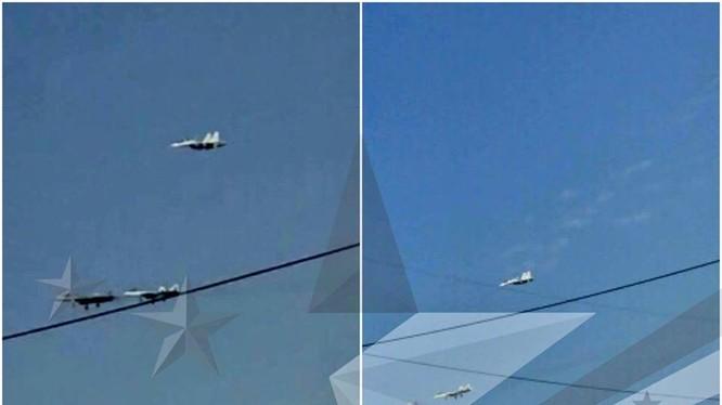 Thêm 2 chiếc Su-57 xuất hiện trên không phận căn cứ quân sự Hmeimim, Latakia, Syria