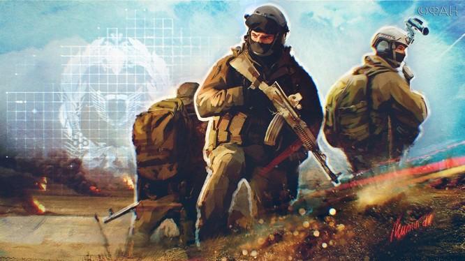 Lực lượng đặc nhiệm Nga - ảnh minh họa TV Zvezda