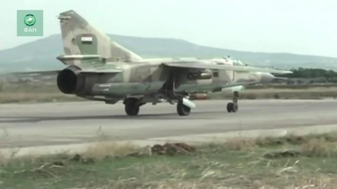Không quân Syria sẵn sàng chiến đấu. Ảnh minh họa RiaFAN
