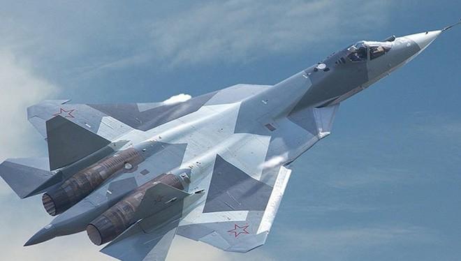 Siêu phẩm công nghệ PAK - FA,Su-57. Ảnh minh họa truyền hình Ngôi Sao