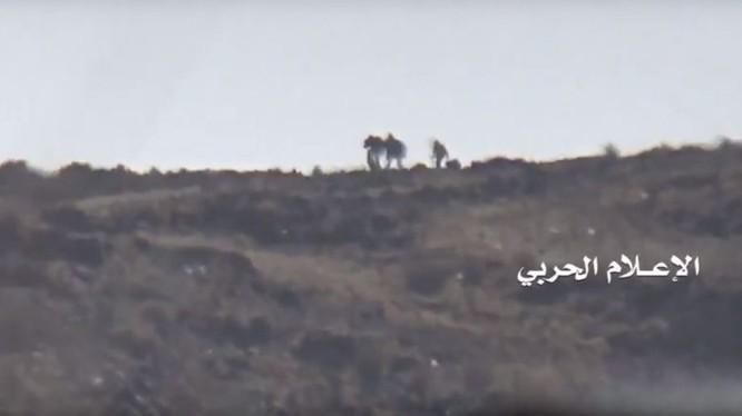 Các binh sĩ Ả rập Xê út, nạn nhân của tay súng bắn tỉa Houthi - ảnh minh họa video
