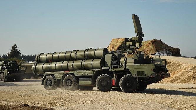 Một tổ hợp tên lửa S - 400 Nga ảnh minh họa VeteransToday