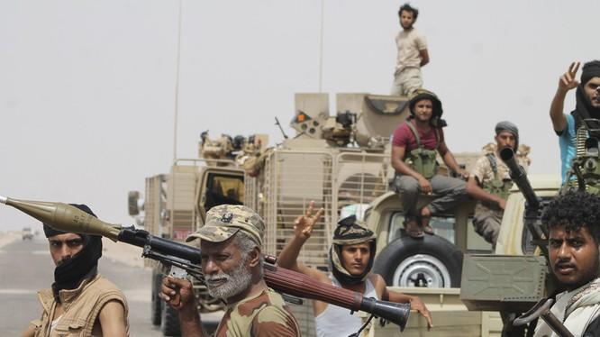 Lực lượng chiến binh Houthi - ảnh minh họa Masdar News
