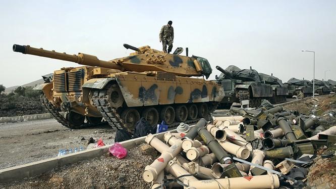 Quân đội Thổ Nhĩ Kỳ chuẩn bị tấn công thị trấn chiến lược ở Afrin - ảnh minh họa Muraselon