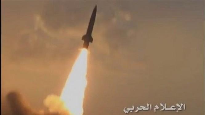 Lực lượng tên lửa Yemen phóng tên lửa - ảnh minh họa Masdar News