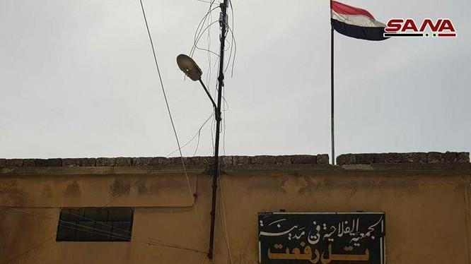 Quân đội Syria vẫn trong thị trấn Tal Riffat, phía bắc tỉnh Aleppo - ảnh minh họa Masdar News