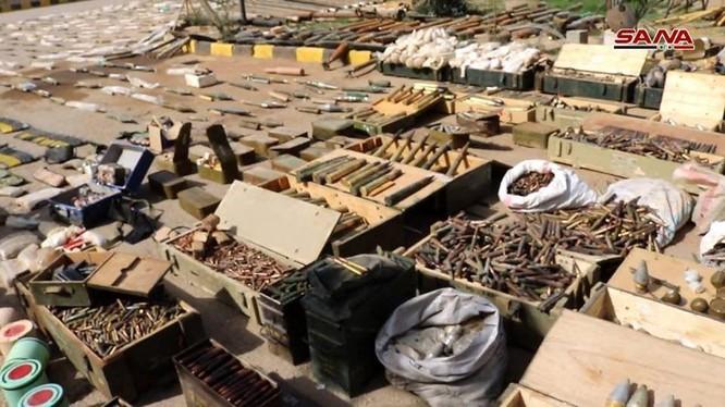 Kho bom đạn, vũ khí của IS ở Deir Ezzor - ảnh minh họa South Front