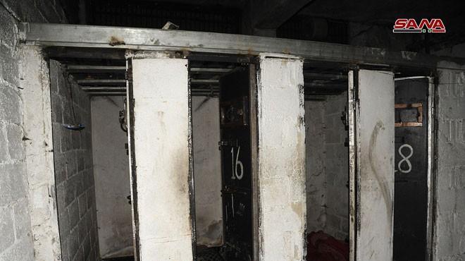 Ảnh nhà tù của lực lượng Hôi giáo cực đoan ở Đông Ghota - video SANA