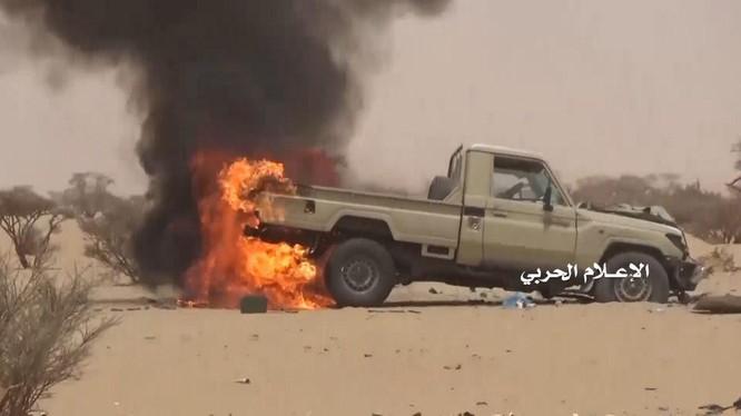 :Lực lượng Houthi tiếp tcụ dành thắng lọi trong các cuộc chiến với Liên quân Ả rập Xê út