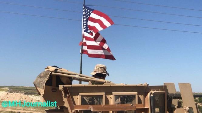 Quân đội Mỹ thiết lập căn cứ quân sự ở Manbij - ảnh minh họa South Front