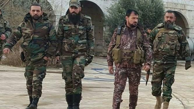 Các sĩ quan lực lượng Tiger chuẩn bị cho chiến trường Douma, Đông Ghouta. Ảnh minh họa Muraselon