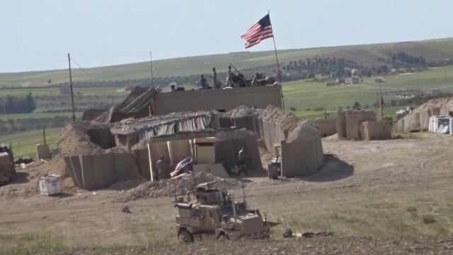 Quân đội Mỹ thiết lập tiền đồn để trấn an người Kurd - ảnh minh họa video