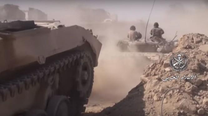 Binh sĩ quân đội Syria giải phóng thị trấn al-Riyhan = ảnh minh họa MasdarNews