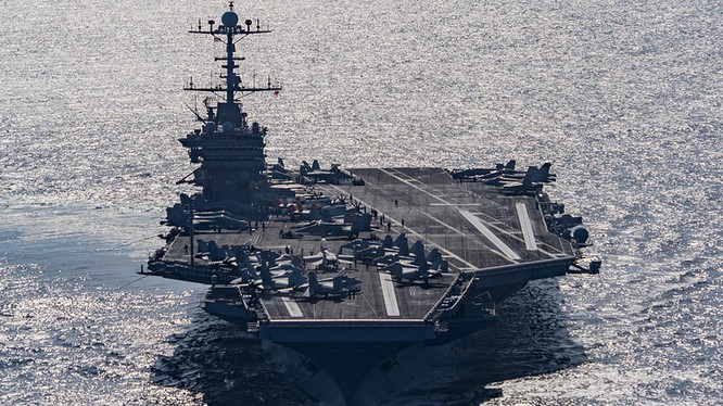 Tàu sân bay USS Harry S. Truman - ảnh minh hoa TASS