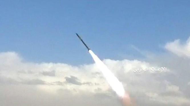 Lực lượng Houthi phóng Burkan-H1, Ảnh truyền thông Hputho