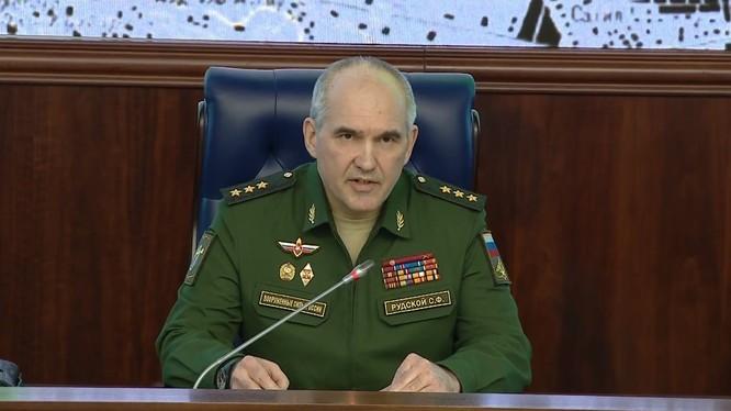 """Tướng Rudskoi: Tổng số 71 quả tên lửa các loại đã bị đánh chặn"""". ảnh South Front"""