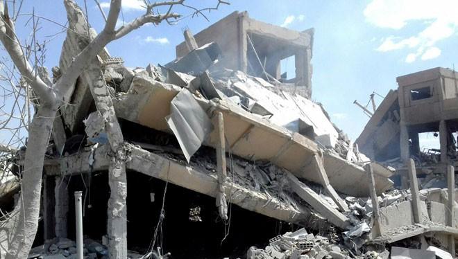 Lực lượng phòng không Syria trên căn cứ quân sự Mezzeh, Homs. ảnh minh họa South Front
