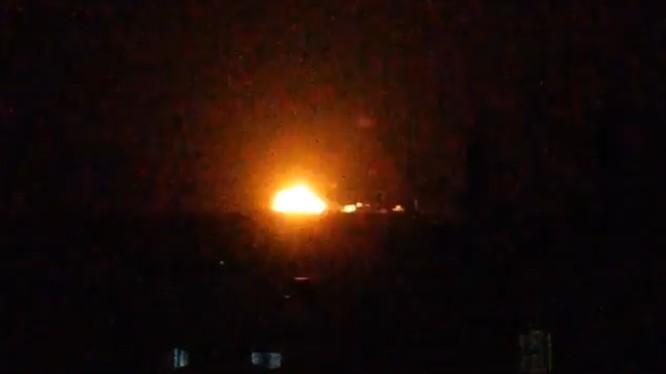 Không quân Nga không kích ở Idlib. ảnh minh họa video EMC