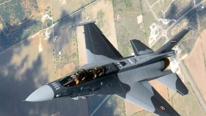 Máy bay chiến đấu không quân Iraq - ảnh minh họa Masdar News